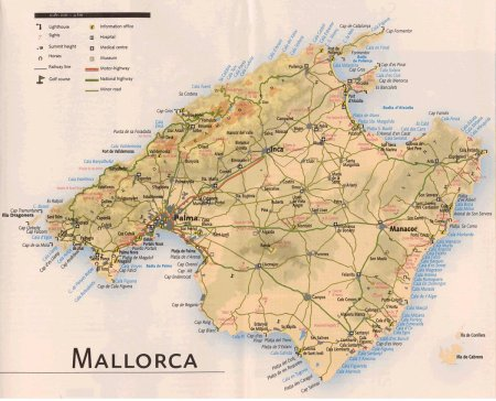The Island of Mallorca